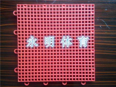 井字格悬浮拼装地板